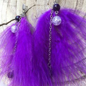 Pendientes-artesanales-pluma