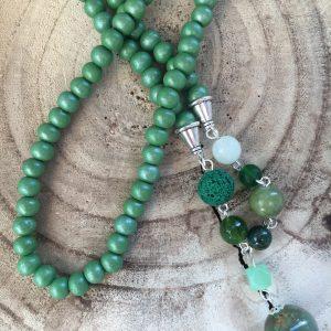 Collar-artesanal-verde