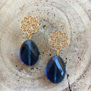Pendientes-artesanales-azules