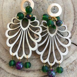 Pendientes-artesanales-verdes