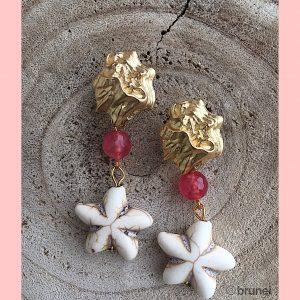 Pendientes-artesanales-rosa