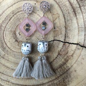 Pendientes-artesanales-gris