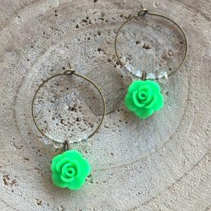 Aros-bronce-verde