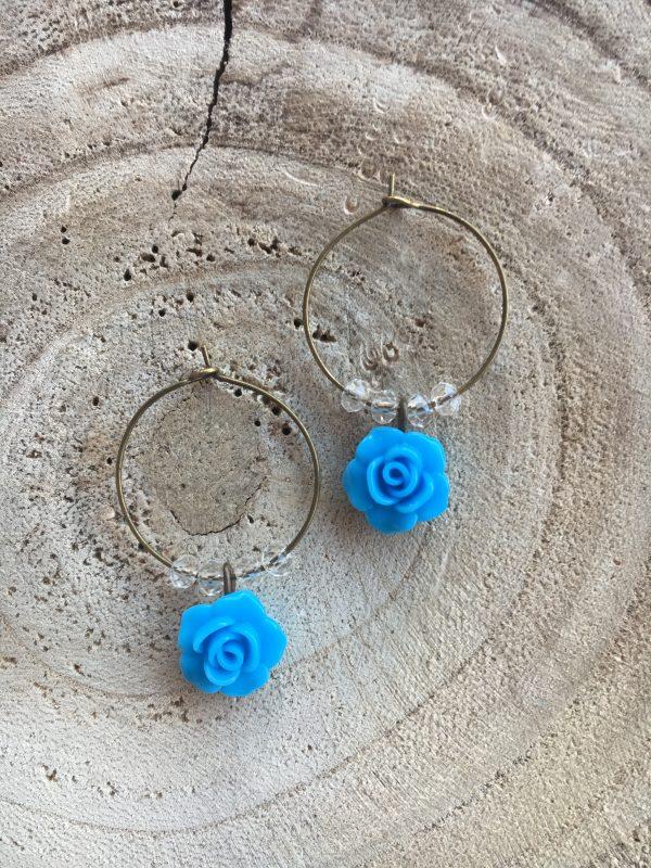 Aros-bronce-azul