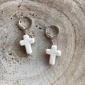 Aros-plata-cruz