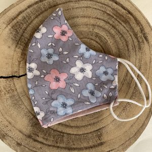 Mascarilla-gris-flores